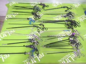 Lot of 51 Graspers Scissors Biopsy Punch Forceps Mueller Pilling Storz Boss Wolf