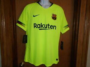 Nike Vaporknit 2018/2019  FC Barcelona Away Jersey 918912-702 Men's Size L NWT