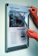 A1 Aluminium Snap Frames Poster Clip Holders Displays Retail Wall Notice Boards