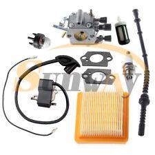 Carburateur + Bobine D'allumage Filtre à air pour STIHL FS120 FS200 FS250 FS300