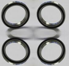 """4x acb41/345 2rs/acb-41 41x6.5x45 ° (45 °/45 °) 41mm 1-1/8"""" tipo impositivo rodamientos de bolas"""