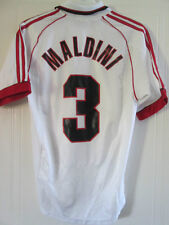 2000-2002 AC Milan Away Maldini 3 Football Shirt small (37914)