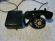 Antique Western Electric Early Cradle Desk Telephone