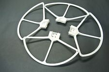 DJI Phantom 1 2 3 Snap ON/OFF Propellers Protectors Guard Cover Bumper White