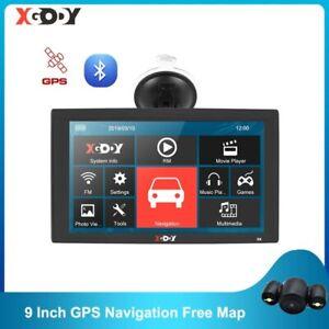 XGODY X4 9 Inch Truck Car GPS Navigation 256MB 8GB Bluetooth Navigator  GPS Sat