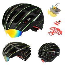 Casco Bicicleta gafas RockBros Triathlon btt carretera contrareloj luminiscente