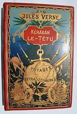 Kéraban le têtu, Jules Verne, Voyages Extraordinaires, Hetzel  globe doré type 3