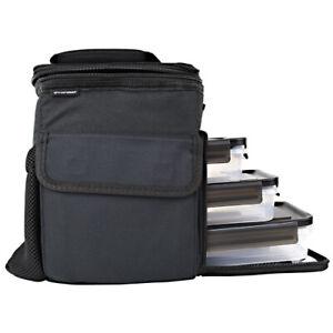 Performa PerfectShaker 3 MEAL COOLER BAG - BLACK