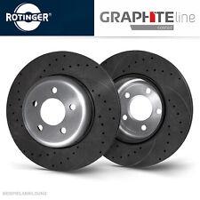 MX-5 II Rotinger Graphite Sport-Bremsscheiben Satz Vorderachse Mazda MX-5 I NA