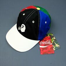 100% Authentic BAPE x Coca Cola Mens 6 Panel Cap Hat - a bathing ape