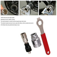 Professional Bicycle Crank Extractor Puller Bottom Bracket Remover Spanner Tool