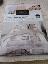 PARURE HOUSSE DE COUETTE+2 TAIES 240X220 IMPR COTON