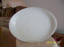 Bernardaud & Co Limoges Vintage Royal Cascade White Porcelain Serving Platter