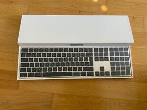 Apple Magic Keyboard 2 MAC PRO 2019/2021 silber/schwarz SEHR SELTEN deutsch