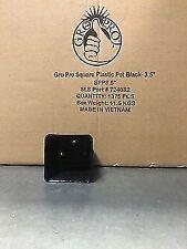 "Black Gro Pro Square Blow Mold Pot 3.5"" inch (1375 Pots) Full Case"