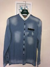 Mens Medium Pearly King Shirt Designer VXIII Rare Design