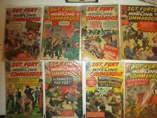 Sgt Fury 160 comic collection lot starter Near complete set  Silver Bronze 1-161