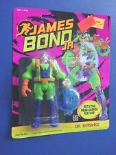 1991 James Bond Jr Figure, Dr Derange. MOC, Sealed