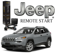 2014-2018 Jeep Cherokee Plug & Play Remote Car Start Easy Install Remote Starter