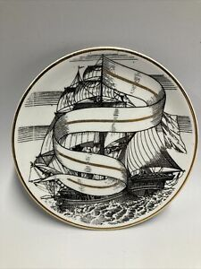 Valieri Ship Coaster Made exclusively for Bonwit Teller by Fornasetti Vintage