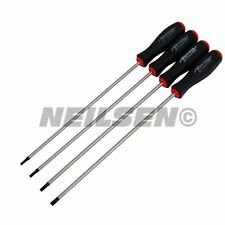 Neilsen Extra Long Torx Screwdriver Set T15 | T20 | T25 | T30       2899*
