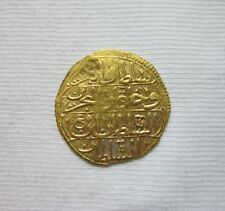 OTTOMAN TURKEY. GOLD ZERI MAHBUB OF MAHMUD I, 1143-1168AH. 1730-1754AD. MARK # 3