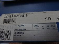 NIB REEBOK RUNNING SNEAKERS/SHOES-SIZE 8.5-TROO FLIGHT-NAVY/WHITE/PURPLE