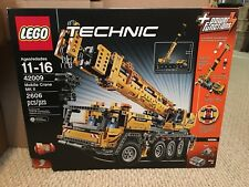 LEGO Technic Mobile Crane MK II 42009 Brand New, Sealed