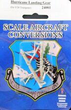 SAC 1:24 Hurricane Landing Gear for Trumpeter White Metal Detail Set #24001