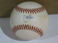 Randy Johnson Autographed Baseball JSA Certified