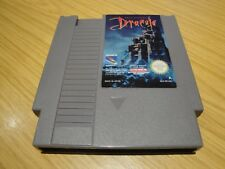 BRAM STOKER'S DRACULA. NES PAL A. THOROUGHLY CLEANED. WELL PACKAGED.