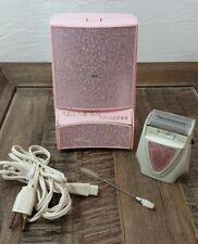 Vintage Remington 60s Princess Pink Electric Shaver with Box