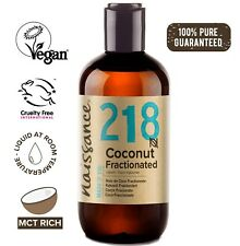 Naissance Coconut Fractionated Oil 250ml Perfect for moisturising and massage