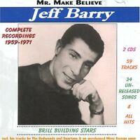 Jeff Barry Complet Enregistrements 1959-1971 2-cd Neuf/Scellé