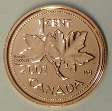 2001 Canada Proof-Like 1 Cent