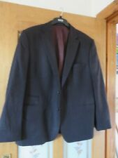 Mens Marks & Spencers, inspired by Italy burgundy jacket/tailored fit, medium