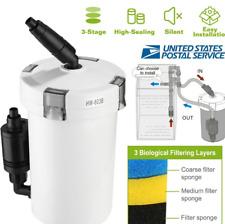Aquarium Fish Tank External Filter 400L/H Free Media All Pond Solutions EF-150