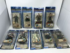 Lord of the Rings ToyBiz The Return of the King 9 Figure Lot ALL NEW IN PACKAGE