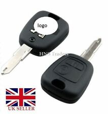 NEW 2 BUTTON REMOTE KEY FOB CASE FOR PEUGEOT 106 107 206 207  307 &/ LOGO A57