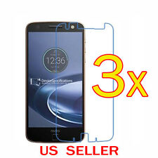 3x Clear LCD Screen Protector Guard Cover For Motorola Moto Z2 Force / Z2 Play