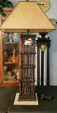 """Vintage Fitz & Floyd Exoticals Collections Lamp~Rare, Highly Collectible~48""""Tall"""