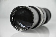 VERY RARE  Super Yashinon-R 1:5.5 f=30cm Yashica Japan Lens