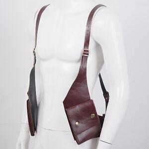 Underarm Shoulder Bag Mobile Phone Bag Adjustable Buckles PU Leather Strap Gift