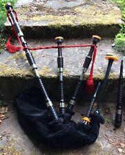 RG Hardie vintage Great Highland Bagpipes