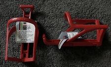 2 Cateye Water Bottle Cages - Model BC-100 - NOS - Fixed Gear - Vintage - Red