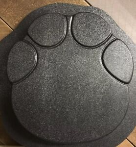 Elephant Print Stepping Stone Concrete Mold 3pc