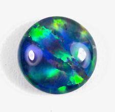 Natural Australian Coober Pedy Opal Triplet 10mm for pendant, ring, bracelet