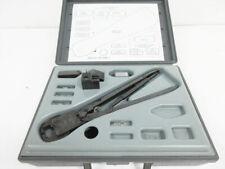 Amp 59980 1 Hand Crimp Tool Blindmate N Sma Tnc To Semi Rigid Coax 312253 1 Die