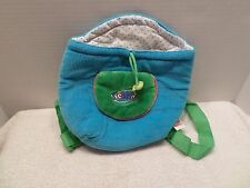 WEBKINZ Pet Carrier BAG PURSE HANDBAG TOTE Blue & Green EUC Dress Up Play