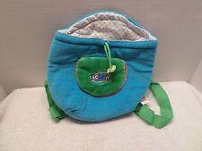 WEBKINZ Pet Carrier BAG PURSE HANDBAG TOTE Blue & Green EUC Dress Up Play